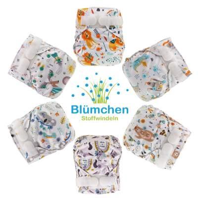 Cover Impermeabile Newborn Velcro con doppia barriera ( 2-6 kg ) | Blumchen