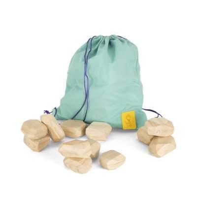 Pietre bilanciate in legno - Pioland Rocks | Bangarang Toys