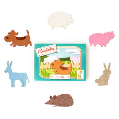 Trovalombra Animali della Fattoria | Bangarang Toys