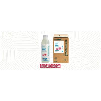 Detergente Eco per Bucato con olio essenziale di rosa | Greenatural