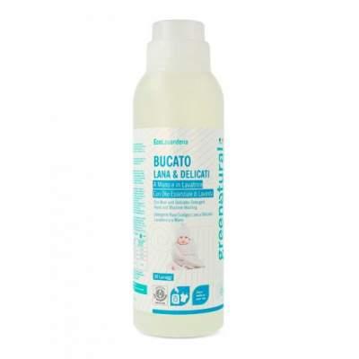 Organic liquid detergent marseiles hands and washing machine Greenatural 1000ml