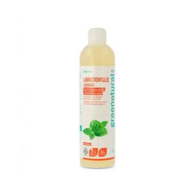 Lavastoviglie liquido Greenatural Menta ed Eucalipto Ecobio