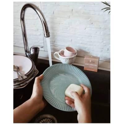 Detergente Piatti Solido Limone & Mandarino | Bioermi