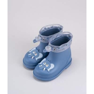 Stivali da pioggia con Coulisse Bimbi Unicorno Rosa | Igor Shoes