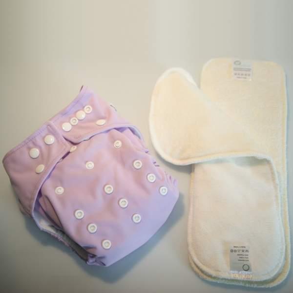 Kit Prova Pannolino Lavabile Pocket | Seta Buretta