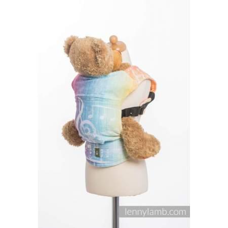 Doll carrier Lenny Lamb Symphony Rainbow Light