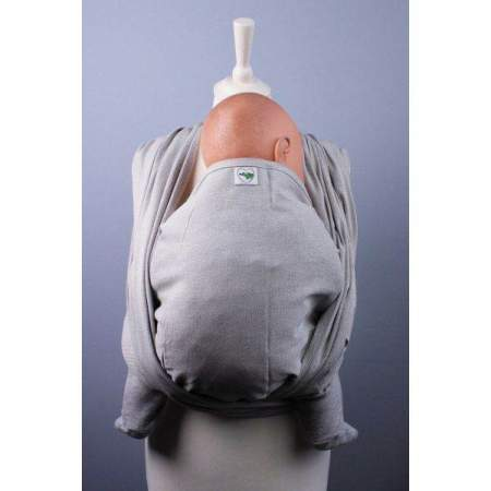 Woven Baby Wrap Buzzidil Wrap It Pure Grey