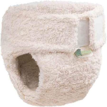 Organic Cotton Fitted cloth nappy Little Lamb