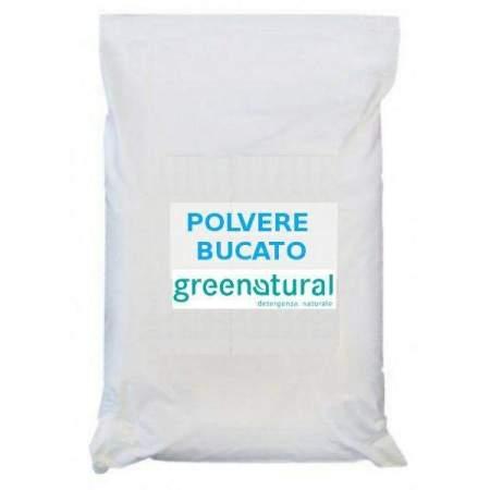 Polvere Bucato Sacco 25 Kg GreeNatural