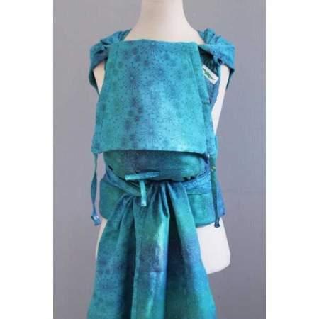 Mei Tai regolabile Buzzidil Wrapidil Blue Dandelion