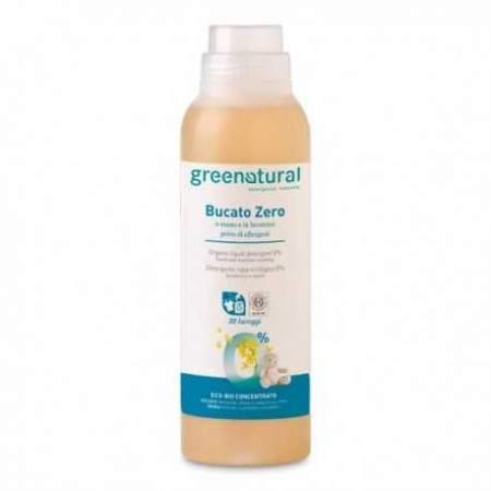 Detersivo liquido per bucato a mano e in lavatrice ipoallergenico  0% Greenatural