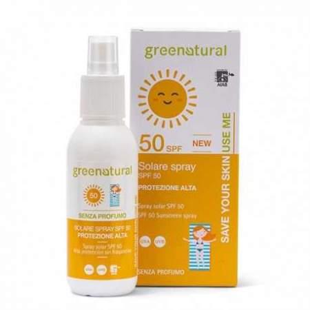Spray solare adulti Ecobio  SPF 50 Greenatural