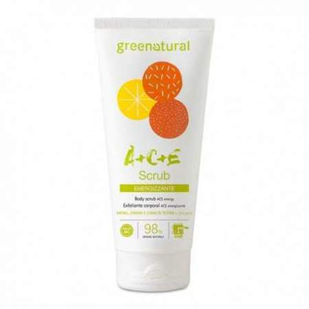 Scrub corpo ACE multivitamine Greenatural Ecobio 200ml