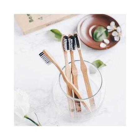 Bamboo Toothbrushes Bambaw (set of 4)