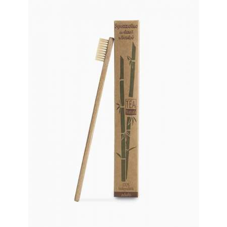 Spazzolino da denti per bambini in bambù |Tea Natura
