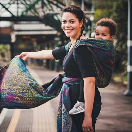 Didymos Mosaic fascia porta bebè
