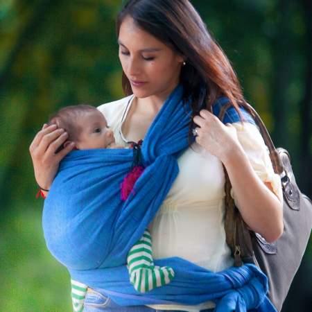 Didymos Prima Ultramarine Baby wrap sling