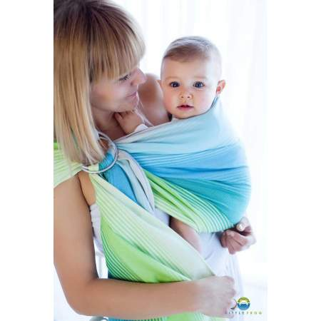 Ring sling Little Frog Linen Bazzite