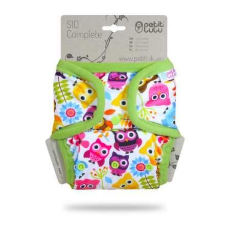 Pannolino lavabile SIO Complete Petit Lulu Happy Owls
