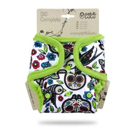 Pannolino lavabile SIO Complete Petit Lulu Mexican Skulls