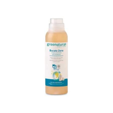 Detergente liquido ipoallergenico per bucato a mano e in lavatrice Bucato Zero - GreeNatural