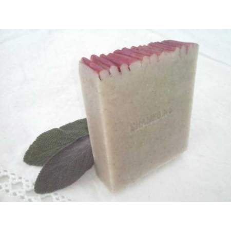 Organic Solid Shampoo Coiffè Decoiffè with Rasshoul and clary sage essential oil - Savonnerie Auberginee