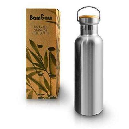 Insulated Stainless Steel Bottle 750ml Bambaw