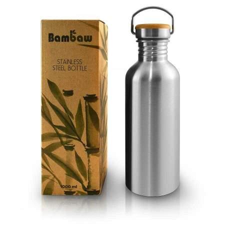 Stainless Steel Bottle  1 lt Bambaw