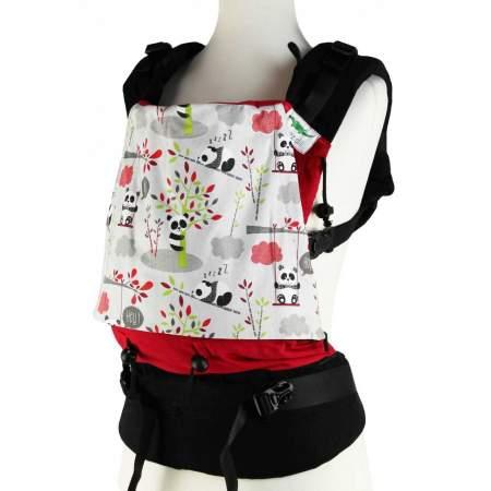 Buzzidil   Fullbuckle ergonomic carrier |Panda Love