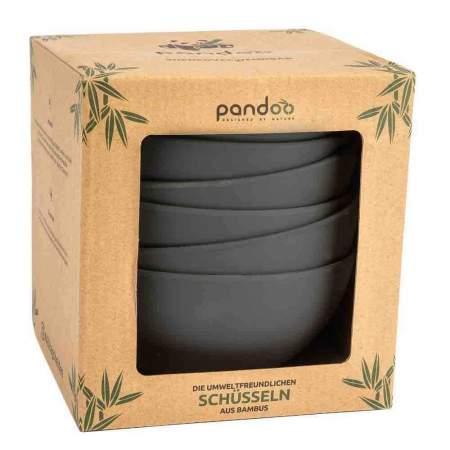 6 ciotole in bambù BPA free | Pandoo