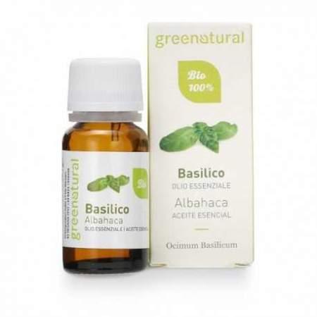 Olio Essenziale di Basilico Biologico10 ml |Greenatural