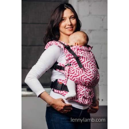Baby carrier LennyUpGrade BASIC LINE TOURMALINE - Lenny Lamb wrap conversion
