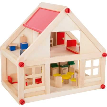 Casa delle bambole con mobili |Legler