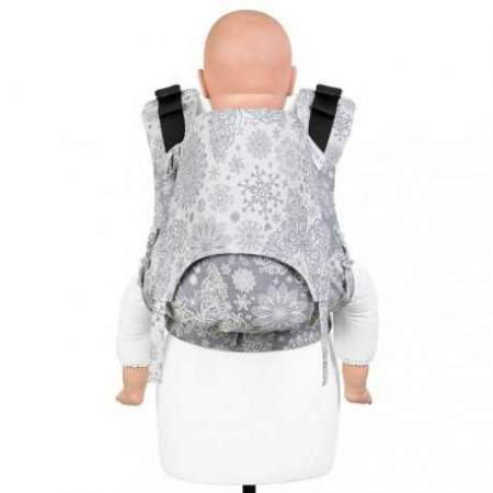 Fullbuckle Babycarrier Fidella Fusion 2.0 Toddler Iced Butterfly Grey