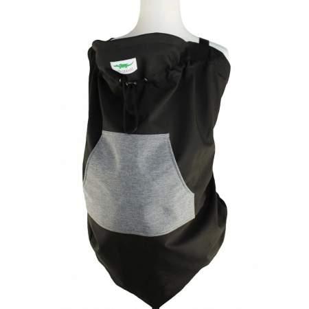 Cover anti vento per portare Grey and Black | Buzzidil