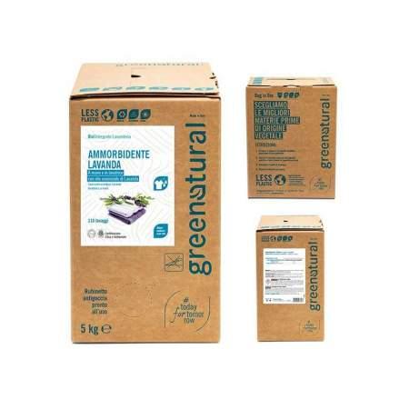 Bag in Box 5 kg Ammorbidente Eco Bio con olio essenziale di Lavanda |