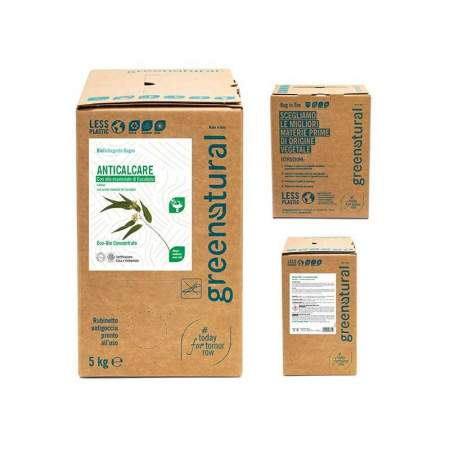 Bag in Box da 5 lt Anticalcare Eco-Bio all'Eucalipto | GreeNatural