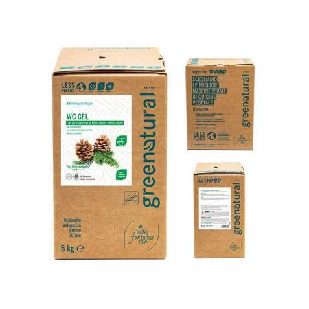 Bag in Box da 5 lt Detergente WC 3 in 1 | GreeNatural