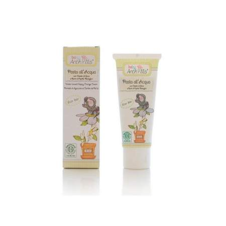 Water-based Nappy Change Cream with Zinc Oxide and organic Shea butter Baby Anthyllis