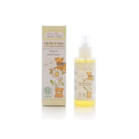 Organic Body Oil Baby Anthyllis
