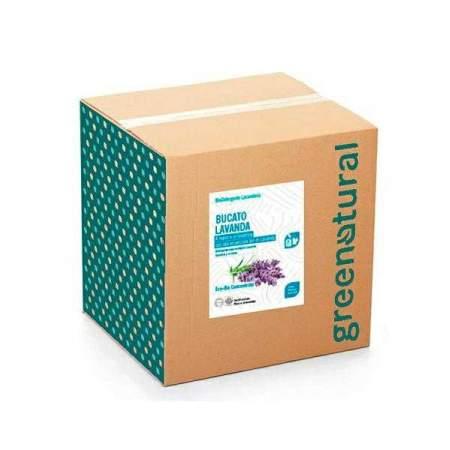 Bag in box da 10 kg Bucato Eco Bio con olio essenziale di Lavanda | GreeNatural