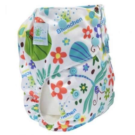 Pannolino Lavabile Pocket V2 Taglia Unica Summer Meadow senza inserti | Blumchen