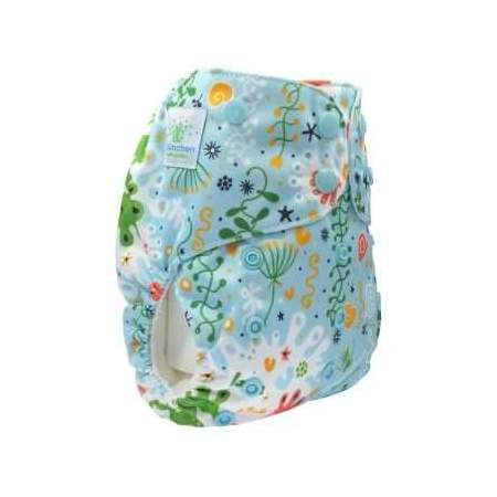 copy of Cloth Nappy Pocket V2 One Size Seahorse without inserts| Blumchen