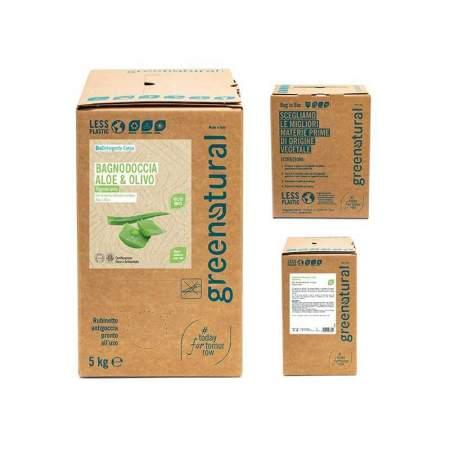Bagnodoccia Aloe & Olivo - Eco Bio - Bag in Box 5 KG