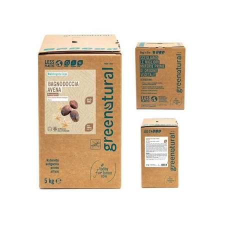 Bagnodoccia Eco-bio Avena e Karitè, bag da 5 kg | Greenatural