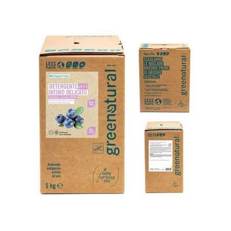 Detergente Intimo Delicato Calendula, Lavanda e Mirtillo, bag in box da 5 kg | Greenatural