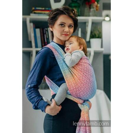 Baby wrap sling Lenny Lamb Big Love Rainbow