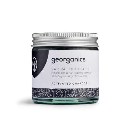 Dentifricio naturale in pasta al Carbone Attivo | Georganics