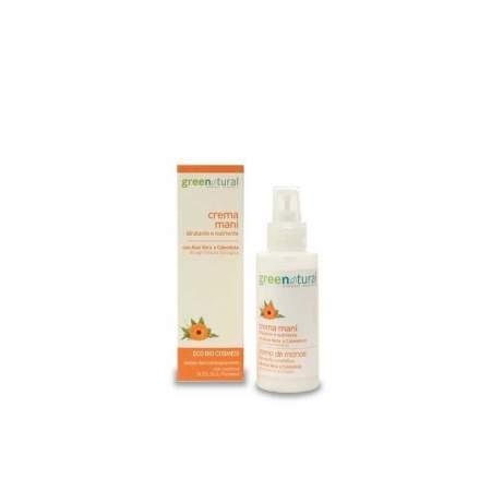 Crema Mani Eco - Bio con Aloe Vera e Calendula |GreeNatural