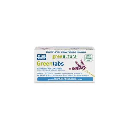 Greentabs alla lavanda per lavatrice |GreeNatural